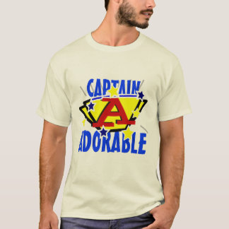 Camiseta Capitán Adorable Funny Tee