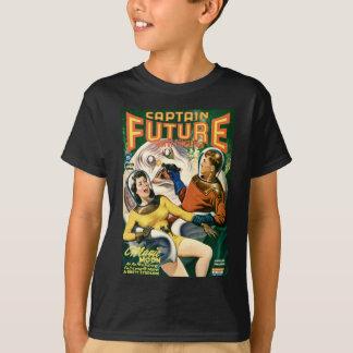 Camiseta Capitán Future y la luna mágica