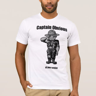 Camiseta Capitán Obvious