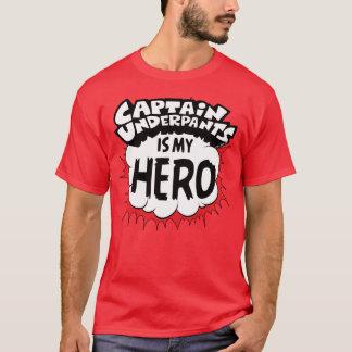 Camiseta Capitán Underpants el   mi héroe