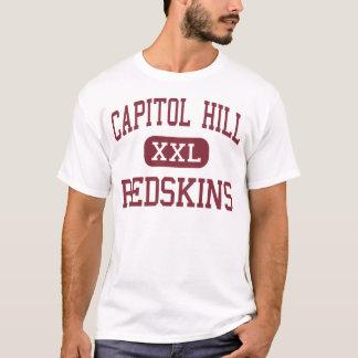Camiseta Capitol Hill - pieles rojas - alta - Oklahoma City