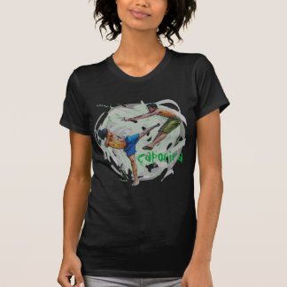 Camiseta capoeira, oscuridad del vida del minha de e