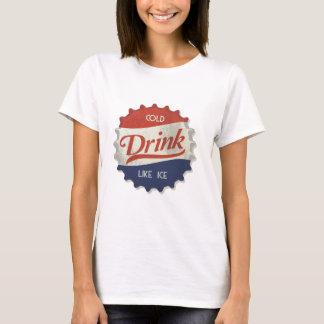 Camiseta Cápsula helada de la cola de la bebida