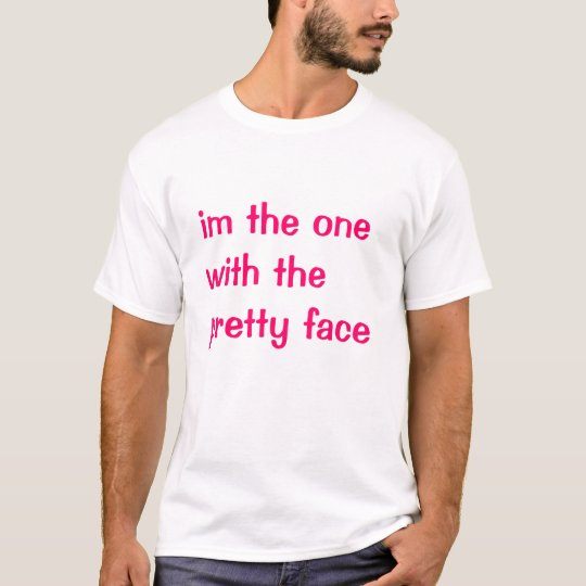 Camiseta cara bonita