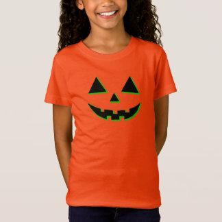 Camiseta Cara de la calabaza de Halloween