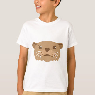 Camiseta cara de la nutria