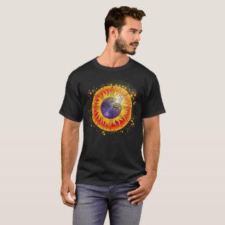 Camiseta Cara de luna total del eclipse solar