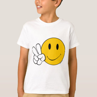 Camiseta Cara del smiley de Pease