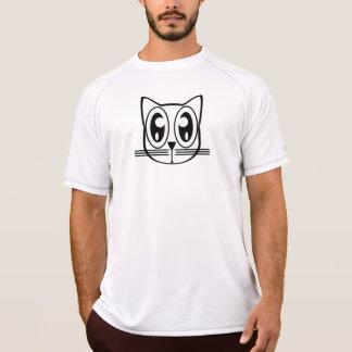Camiseta Cara divertida del gato