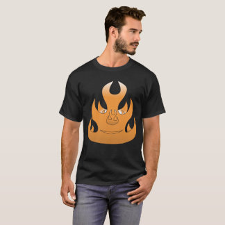 Camiseta Cara llameante