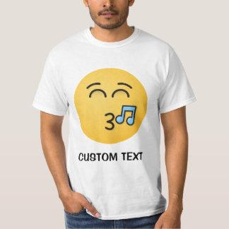 Camiseta Cara que silba con los ojos sonrientes