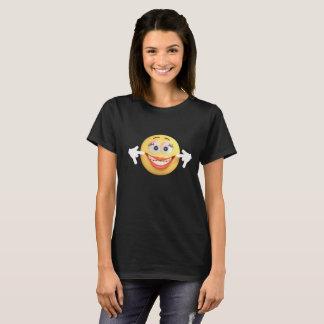 Camiseta Cara sonriente divertida de Emoji tonta para las