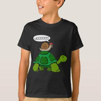 Camiseta Caracol y tortuga - dúo de Turbo