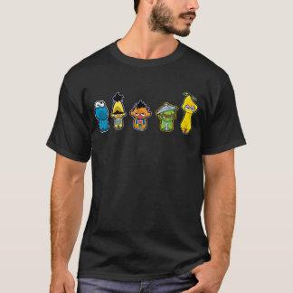 Camiseta Caracteres del Sesame Street del zombi
