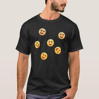 Camiseta caras felices de las galletas