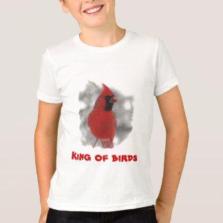 Camiseta Cardenal de los niños - rey de pájaros