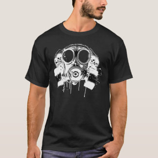 Camiseta Careta antigás libre del lechón de Hiphop