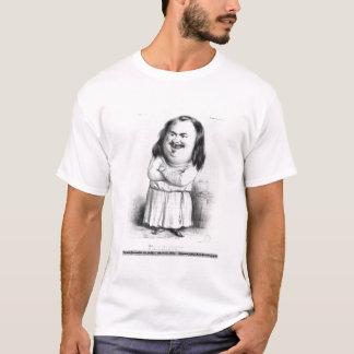 Camiseta Caricatura de Honore de Balzac
