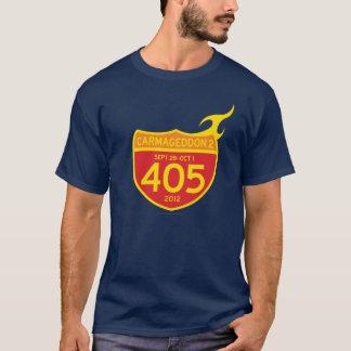 Camiseta ¡CARMAGEDDON 2 los 405 EN EL FUEGO! (camisa