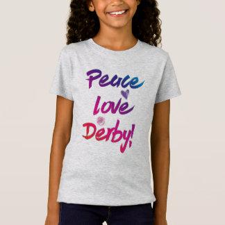 Camiseta Carrera de caballos famosa de Derby del amor de la