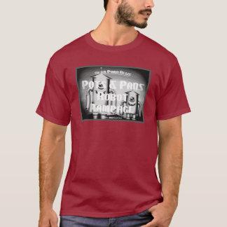 Camiseta Carrete de las noticias del alboroto del robot