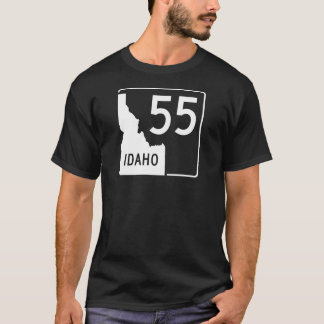 Camiseta Carretera estatal 55 de Idaho
