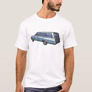 Camiseta Carro 1962 de estación de Chevrolet del azul