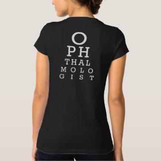 Camiseta Carta de Vision de la señora oculista del