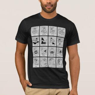 Camiseta Carta LOONEY de la emoción del carácter de TUNES™