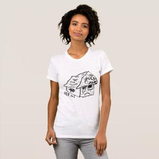 Camiseta CASA TRISTE VI de JUSTIN AERNI