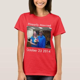 Camiseta Casado feliz