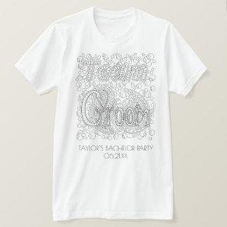 Camiseta Casar a padrinos de boda de la despedida de