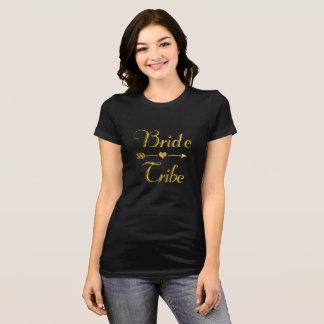 Camiseta Casar la tribu nupcial de la novia de Bachelorette