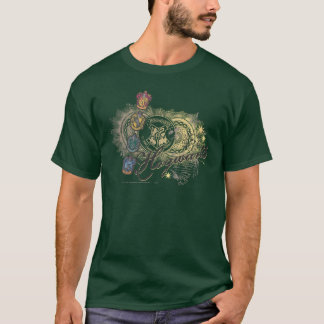 Camiseta Casas de Harry Potter el | Hogwarts - a todo color