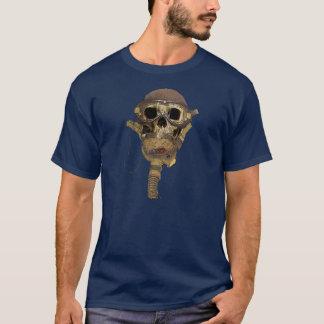 Camiseta Casco de cuero del cráneo