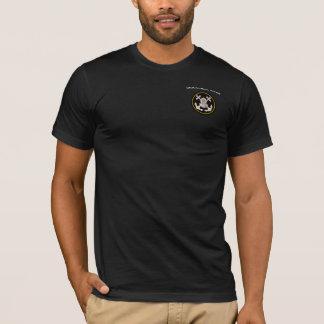 Camiseta Casco del salto y anclas comerciales de Crossbone