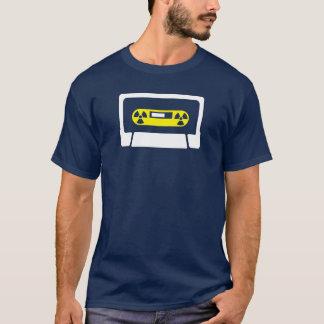 Camiseta Casete/camiseta del símbolo del peligro