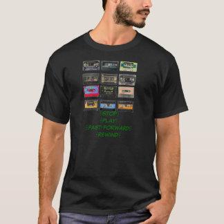 Camiseta casetes,