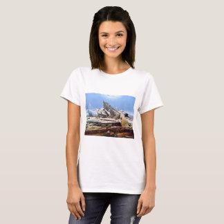 Camiseta CASPAR DAVID FRIEDRICH - el mar del hielo 1824