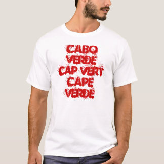 CAMISETA CASQUILLO VERT CABO VERDE DE CABO VERDE