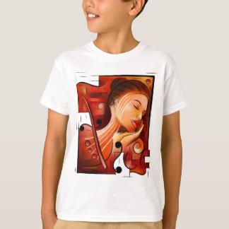 Camiseta Casselopia - sueño del violín fuera trasero