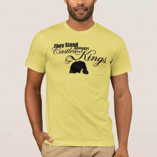 Camiseta Castillos y T de los reyes hombres