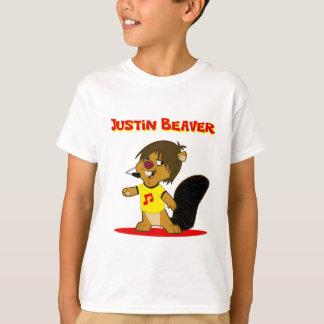 Camiseta Castor de Justin