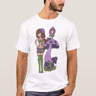 Camiseta Caterpillar y Cheshire