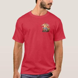 Camiseta católica del santo del ángel del arcángel