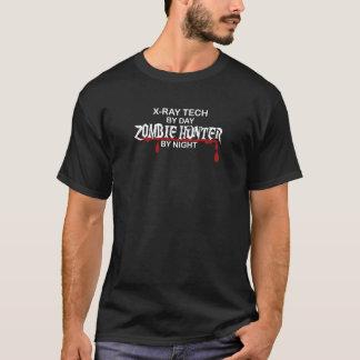 Camiseta Cazador del zombi de la radiografía