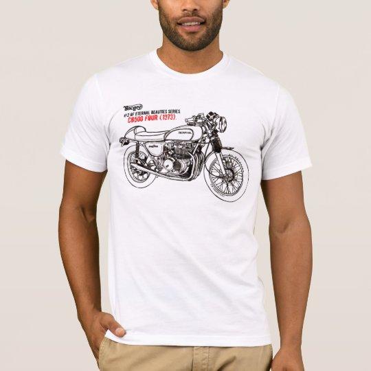 Camiseta CB500 Four 1973.