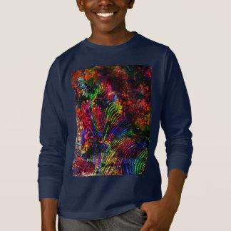 Camiseta Cebra abstracta