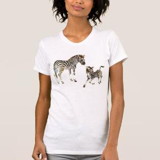 Camiseta cebra de la salmuera