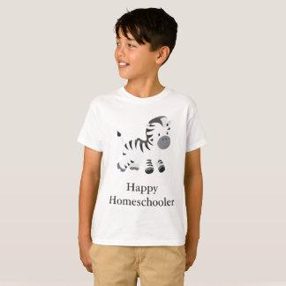Camiseta Cebra Homeschooler feliz